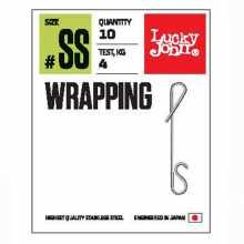 Соединители LUCKY JOHN безузл. LJ Pro Series WRAPPING 01SS 04кг 5 уп.