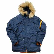 Куртка Nord Denali  Husky Short Rep. Blue/Orange