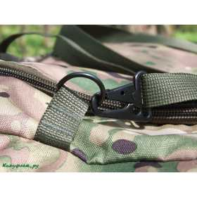 Баул KE Tactical Tour 80л Polyamide 900 Den multicam со стропами coyote